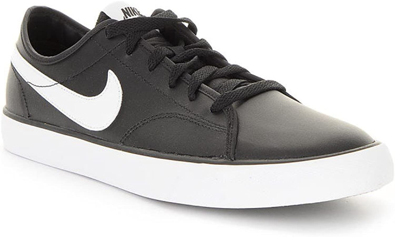 Nike - Primo Court Leather - 644826012 - color  Black-White - Size  6.0