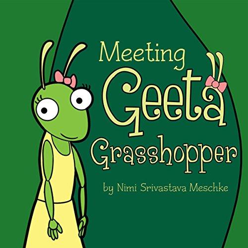 Meeting Geeta Grasshopper audiobook cover art