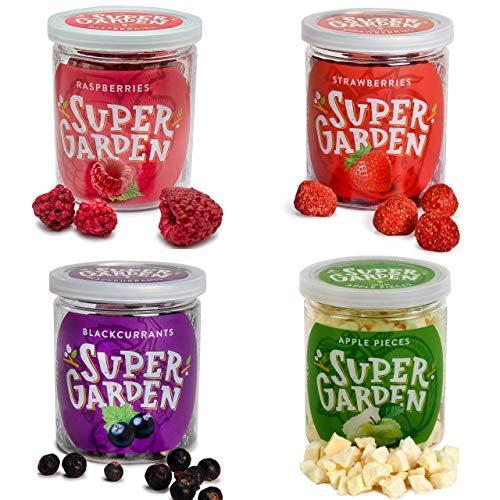 Supergarden Snackbox - Gefriergetrocknete Beeren und Früchte (Sommergarten)