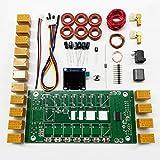 AURSINC ATU-100 DIY Kits 1.8-50MHz 1-150 Watts ATU-100 Mini Automatic Antenna Tuner by N7DDC 7x7 + 0.96 Inch OLED Firmware Programmed Unassembled