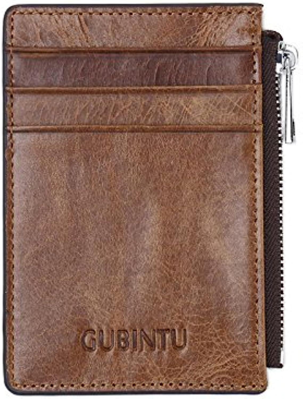 Genuine Leather RFID Blocking Credit Card Holder,RFID Blocking Credit Card Predector Sleeve