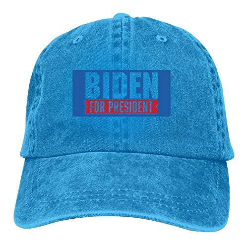 EELMOOR Adult Unisex Biden2020 Baseball Cap Denim Hat Adjustable Trucker Cap