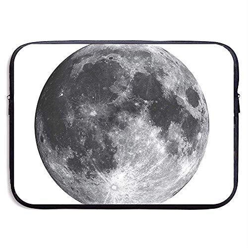 Laptop Sleeve Case Zwarte Maan Notebook Bag Laptop Schoudertas Beschermende Draaghoes Hoes 15 Inch