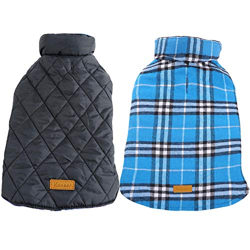 Kuoser Dog Coats Dog Jackets Waterproof Coats...
