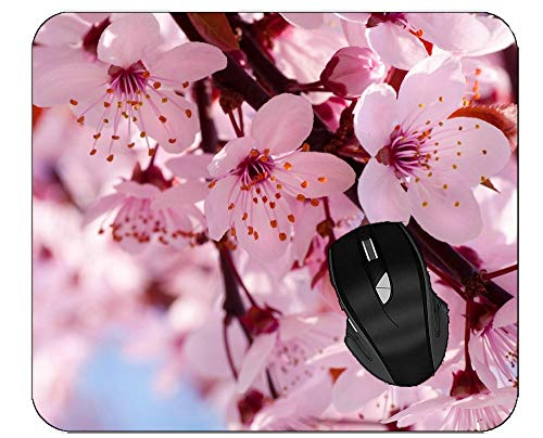 Professional Mousepad Twig Flower Flower Cluster Cherry Blossom Mouse Mat