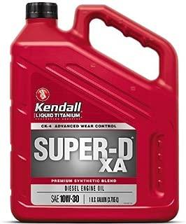Kendall Super-D XA Diesel Engine Oil with Liquid Titanium ( 3/1gal )