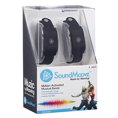 Splash Toys 30654B Bracelets Soundmoovz - Noir - Impose ton Rhyme !