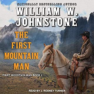 The First Mountain Man audiobook cover art