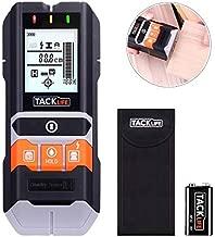 TACKLIFE DMS05, Rilevatore di Metallo e Cavi Elettrici, Rivelatore a Parete Multifunzionale, Prigioniero in Legno/Metallo/Conduttore CA/Rilevamento dell'umidità con LED/Indicatore Acustico