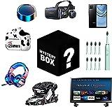 ASASX Caja de Misterio, Caja de Misterio Aleatorio Electronics, Caja de Sorpresa Contiene Regalos inesperados, como Drones, Relojes Inteligentes, gamepads, cámaras Digital