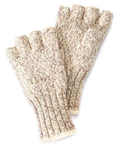 Fox River Socks Herren Ragg Fingerless Glove Kletterhandschuhe, Tweed Braun, Größe S