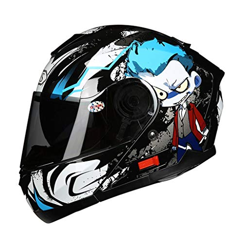 HJL Material ABS Casco aerodinámico Diseño Casco de Motocicleta Casc