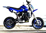 Starmax 40cc Gas Powered Mini Dirt Bike (Blue)