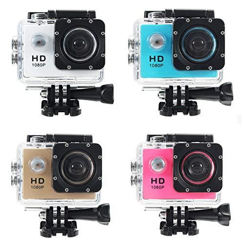 MXBIN 140 Deporte cámara de vídeo Completo Acción Videocámara HD Impermeable DV...