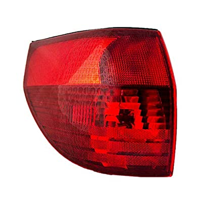 Epic Lighting OE Fitment Replacement Rear Brake Tail Light Assembly Compatible with 2004-2005 Sienna [ TO2800152 81560AE010 ] Left Driver Side LH