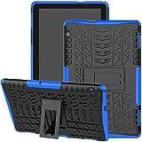 Huawei MediaPad T5 10 Case, Jhxtech Armor Style Hybrid PC +