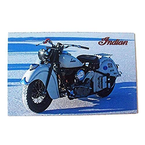 Agility Indian Motorcycle Art 1 Collectible Vintage Photo Fridge Magnet