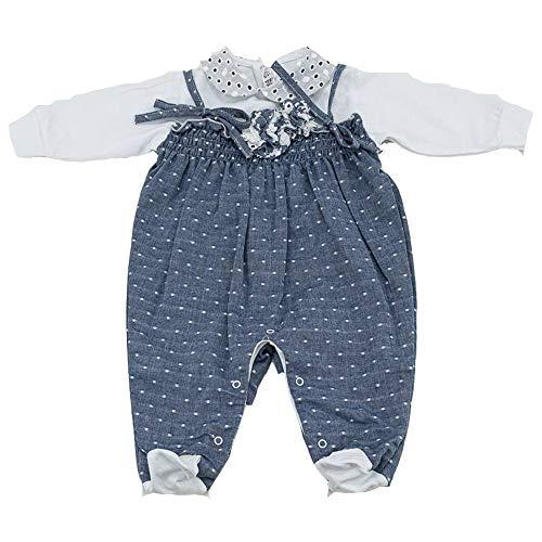 LA SARTORIA Disfraz de mono completo efecto vaquero para bebé, talla 3M LT757