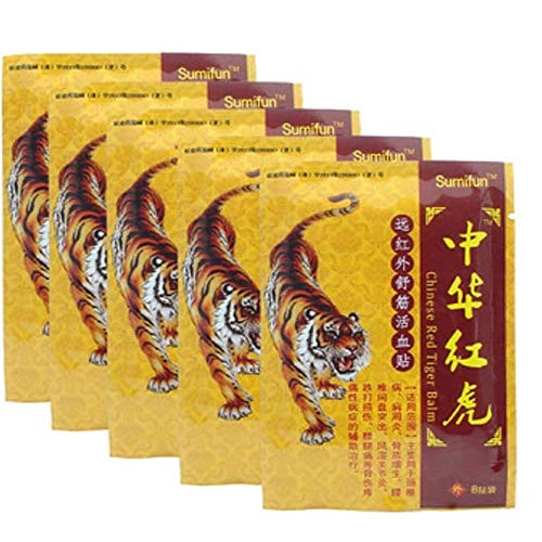 64 Stück Schmerzlinderung Pflaster Chinesische Wärmepflaster Entlastung Rücken & Schulter Schmerzen Gelenke Muskelschmerzen Prellungen Rheuma Arthritis