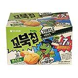 Orion Korean Snack TURTLE CHIPS 꼬북칩 80g (Pack of 7)