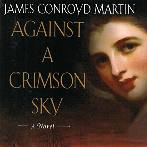 Against a Crimson Sky audiobook cover art