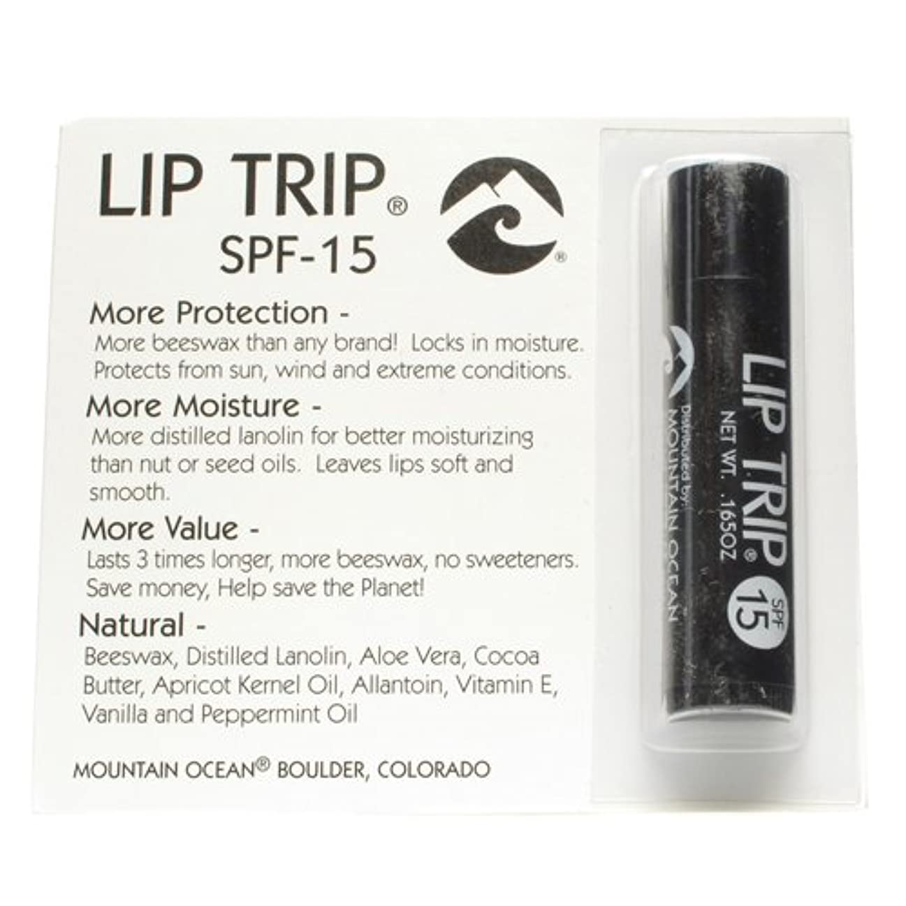 妻カメシガレットMountain Ocean Lip Trip SPF 15 0.165 Ounce -- 12 per case.http【並行輸入】