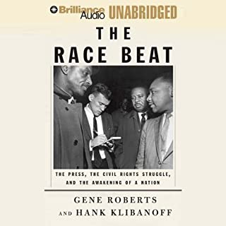 The Race Beat audiobook cover art