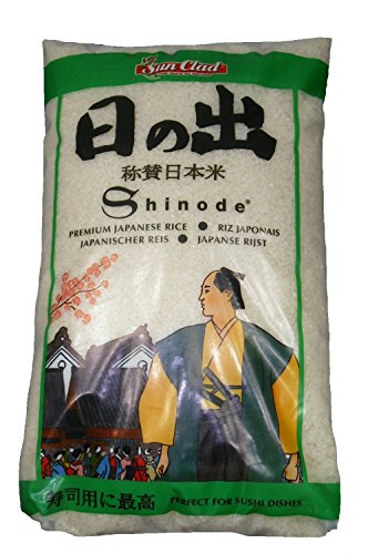 Shinode Sushi Reis 10 kg Sushireis SUN CLAD Sushi Rice