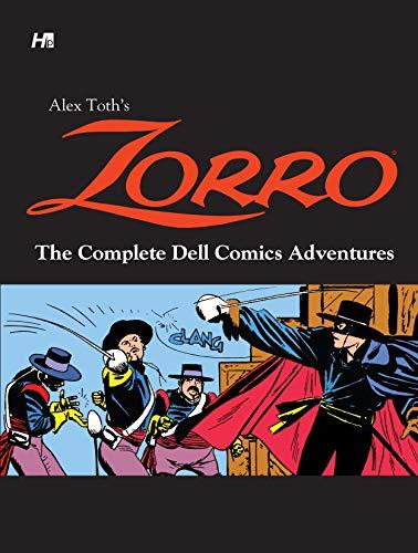 Alex Toth's Zorro The Complete Dell Comics Adventures (English Edition)