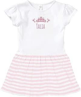 Talia Princess Outfit: Toddler Baby Rib Dress
