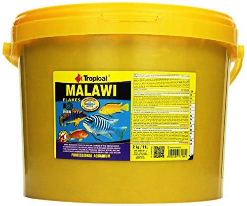 Tropical Malawi Flockenfutter für Malawisee-Cichliden, 1er Pack (1 x 11 l)