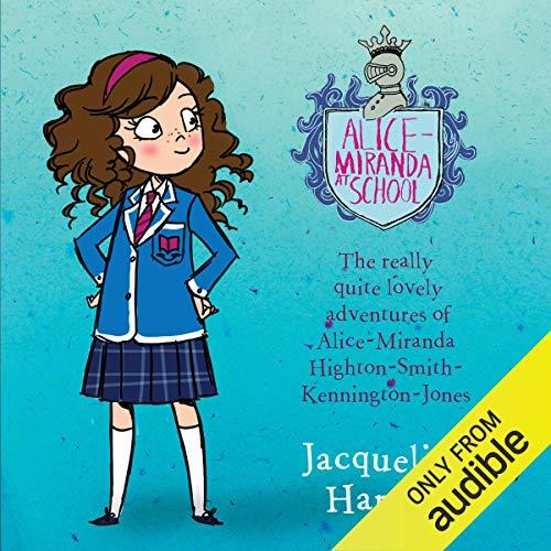 Alice-Miranda at School audiobook cover art