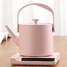 Kyman Termo de Acero Inoxidable Hervidor eléctrico Hervidor Agua hervida Inteligente Temperatura Constante Tetera Oficina Hogar Caldera-Rosa (Color : Pink)