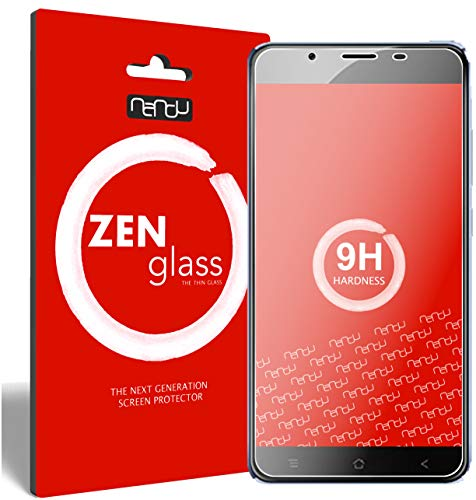 ZenGlass [2 Stück Flexible Glas-Folie kompatibel mit Blackview P2 Panzerfolie I Bildschirm-Schutzfolie 9H I (Kleiner Als Das Gewölbte Bildschirm)