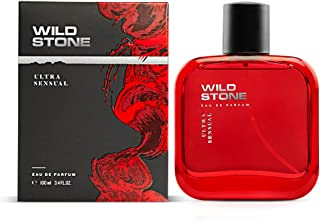 Wild Stone Ultra Sensual Perfume Spray for Men, 100ml, A Sensory Treat for Casual Encounters, Aromatic Blend of Masculine ...