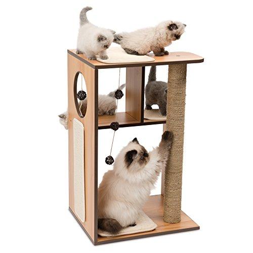 Catit Vesper Katzenmöbel Box groß, walnuss