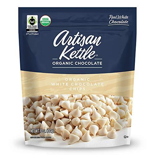 Artisan Kettle Organic White Chocolate Chips, 10 Oz