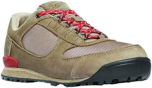"Danner Women's 37398 Jag Low 3"" Hiking Shoe, Timber Wolf/Hot Sauce - 8 M"