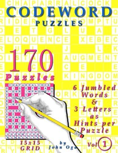 Codeword Puzzles: 170 Puzzles, Volume 1
