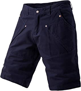Andopa Mens Cozy Short Pants Plus-size Straight Multi Pockets Combat Pants