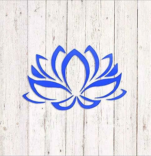 ANVPI Lotus Bloem Decal, Yoga Lotus Sticker, Auto Sticker, Lotus Bloemsticker voor Yeti, Window Decal, Meditatie Decal, Laptop Sticker