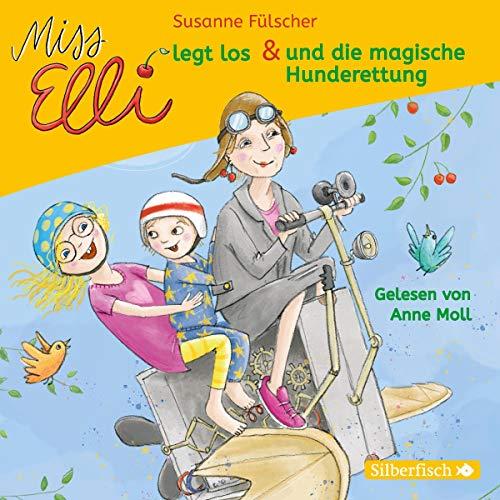 Couverture de Miss Elli legt los / Miss Elli und die magische Hunderettung
