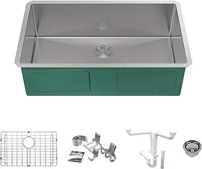 Kraus Khu100 30 Kitchen Sink 30 Inch Stainless Steel