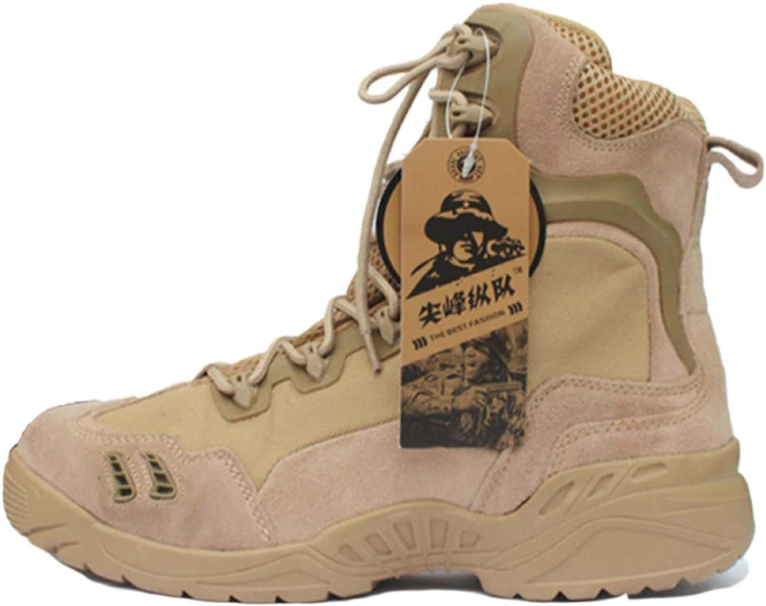 Men Boots Combat Desert shoes Forces High Help Lightweight Breathable Boot