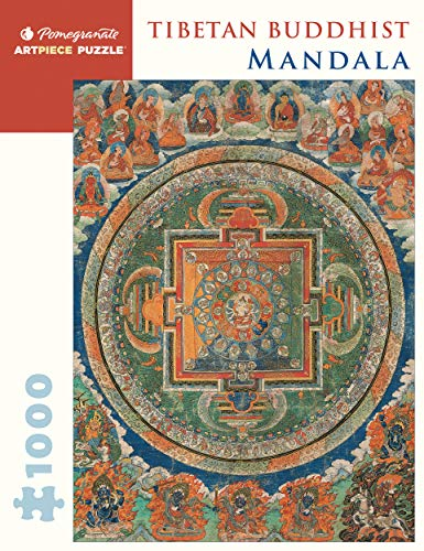 Pomegranate Tibetan Buddhist Mandala 1000 Piece Jigsaw Puzzle