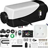 Happybuy Diesel Heater 12V Diesel Air Heater PLANAR 8KW Diesel Parking Heater Remote Control with LCD Switch for Car Trucks Motor-home Boat Bus CAN Black & White
