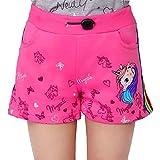 L&K-II Shorts de niña con Estampado de Lentejuelas de Unicornio y Gato Shorts de bebé Infantil de algodón 2705 Rosa 122