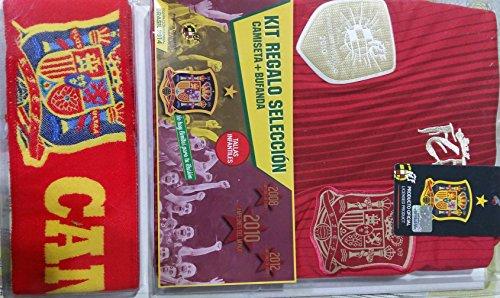 Kit seleccion española camiseta + bufanda (10)