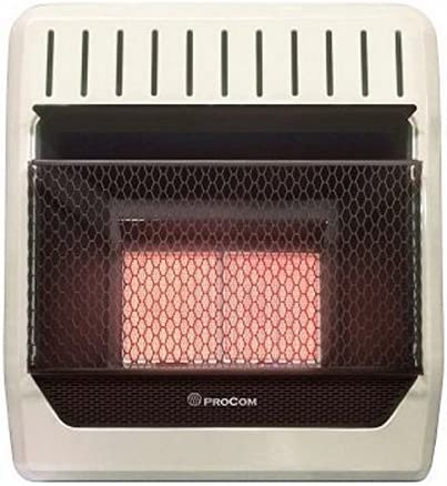 PROCOM HEATING Super special price MN2HPG 20 000 BTU Gas Natural Heate Infrared Raleigh Mall Wall