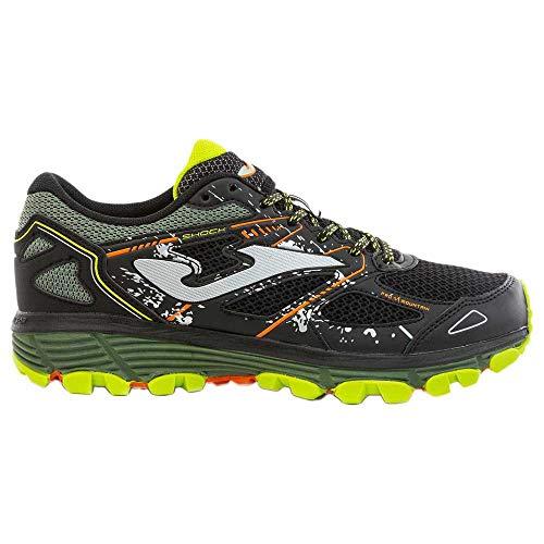 Joma Shock, Zapatillas para Carreras de montaña Hombre, Negro,...
